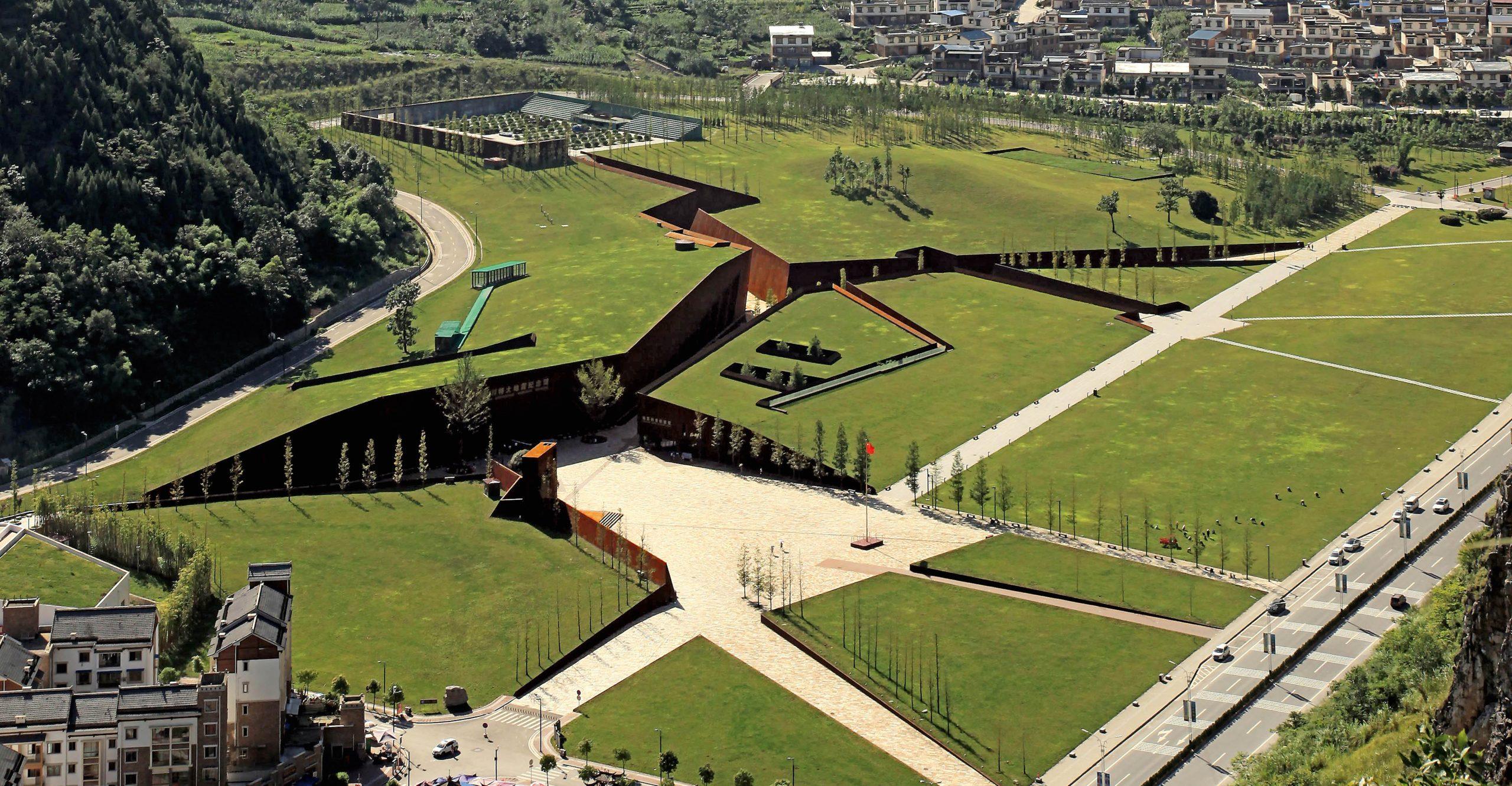 El impactante Museo del terremoto de Wenchuan